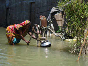 Currently 1,752 villages were under water and over one lakh hectare crop area have been damaged, ASDMA said.