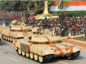 "The T-90S tanks are the fulcrum of the Indian Army's ""shock and awe"" armoured battle plans."