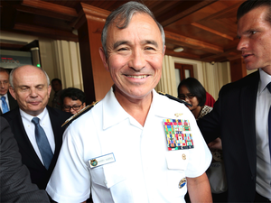The Admiral said he is fairly happy with the level of defence cooperation that exists today between the two sides.