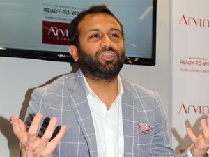 Kulin Lalbhai, Executive Director of Arvind Mill Ltd.