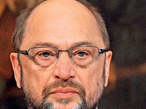 """Trump is an unpredictable personality,"" Schulz told a studio audience."