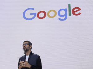 Even at the leadership level there are Indians heading various verticals. (In Pic: Sundar Pichai)