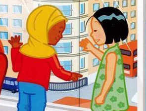 Cartoon wearing hijab in road safety books removed over accusations of 'sexualisation'
