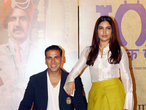 The story of Akshay's movie is based in UP and centred on the issue of open defecation which plagues the state.
