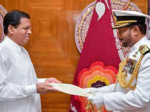 Sinniah, who played a decisive role in the destruction of the LTTE warships in deep sea during the height of the civil war, was appointed as the Navy chief by President Maithripala Sirisena.