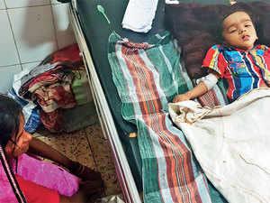 Over 98 lakh children across Uttar Pradesh were vaccinated against Japanese encephalitis in the past three months.