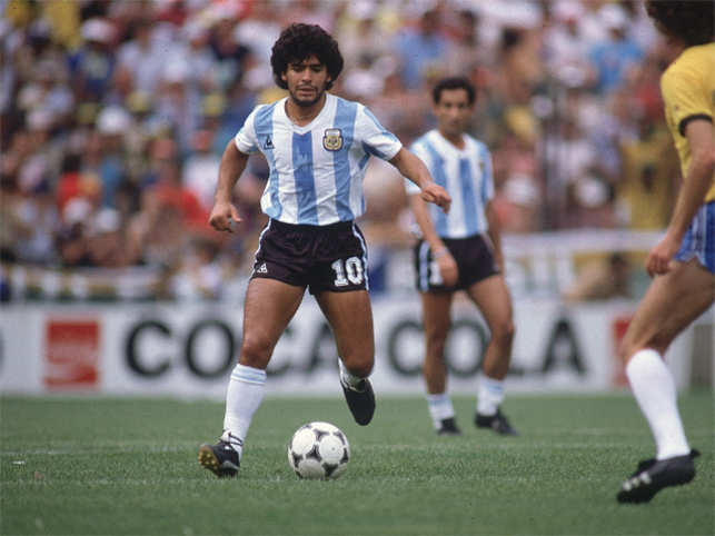 303952cc Diego Maradona admitted his cocaine addiction when he arrived at Barcelona  in the early 1980s and