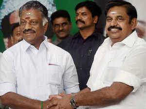 OPS, EPS visit Jaya memorial; Sasikala family sidelined; 18 MLAs protest Amma aide's suspension.