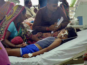 The government has maintained that the children died due to different illnesses, including Japanese Encephalitis (JE) and there was no shortage of liquid oxygen.