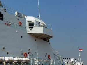 20 service attaches on 3-day visit to naval base, INA