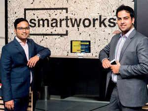Smartworks' cofounders Harsh Binani and Neetish Sarda