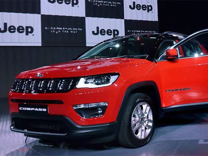 jeep compass suv fiat chrysler gets over 8 100 bookings for jeep compass the economic times. Black Bedroom Furniture Sets. Home Design Ideas