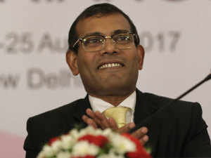 Nasheed said Maldives owned 75% of its international debt to only one country – China.