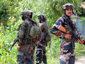 Eight security men killed in attack on police complex in Pulwama