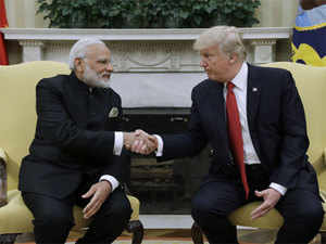 """Modi's visit to the White House """"dispelled doubts"""" about moving the relationship forward among Indian officials, the Trump administration official told."""