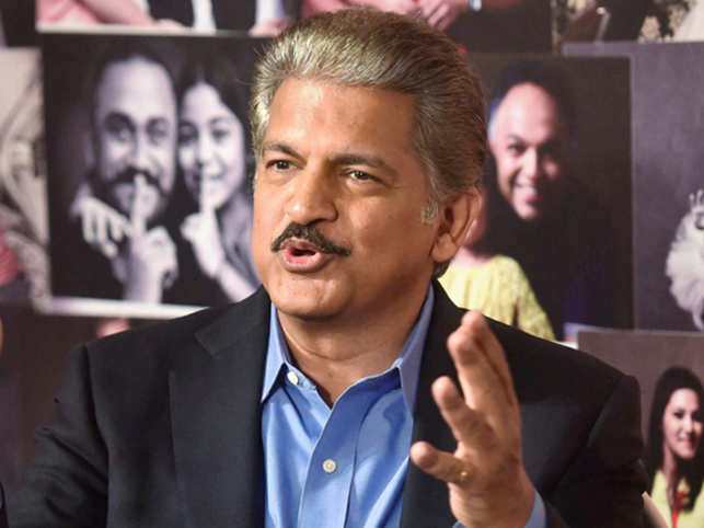 Anand Mahindra had an inspiring reply when he was recently asked why his daughters haven't joined his company.