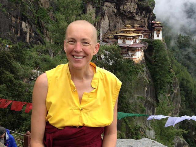 Meet the British banker who turned Buddhist nun in Bhutan - The