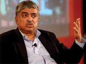 """""""I am really happy to be back at Infosys and hoping to spend the next few months or as long as I'll be here to contribute to the future of Infosys,"""" Nilekani said in a video message to the employees."""