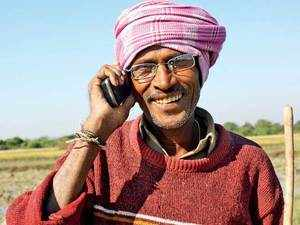 Farmers residing in the hinterlands have started using popular communication apps.