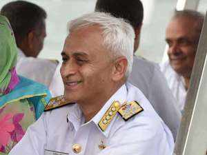 China was very shrill in media comments: Navy Chief Sunil Lanba