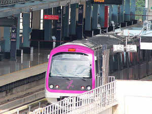 No part of Namma Metro's net work in the first phase (of 42 km already built) and second phase (of 72 km, for which work is going on) has tracks at grade level.