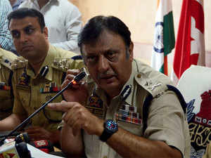 Local militants are giving space to foreign ultras: Kashmir IGP