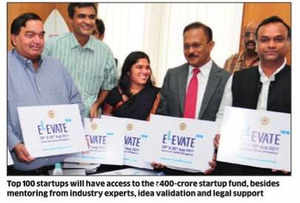 When the final leg of selection process began on Tuesday at Hotel Lalit Ashok, there were 270 startups vying for these top 100 slots.