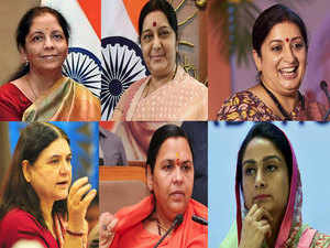 """""""Six women in Cabinet is a record of sorts… It's a strong message of women empowerment and that the Modi government won't shy away from giving important positions to women."""""""