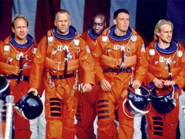 From Armageddon To Interstellar Some Inspiration For Elon Musk S New Space Suit Suit Up The Economic Times