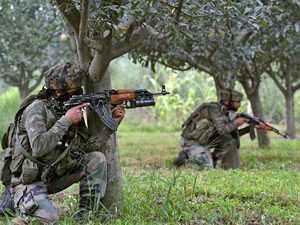 Two top Hizbul terrorists killed in North Kashmir