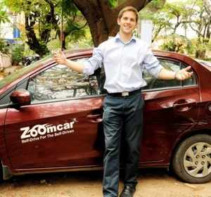 """""""Most of our customers plan weekend getaways or short trips and are usually keen to look forward to something new,"""" says Greg Moran, co-founder of Zoomcar."""