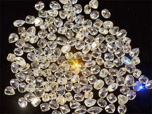 About 90 percent of the world's diamonds pass through the nation where as many as 1 million people are employed in the industry.