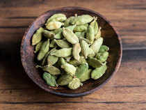 Cardamom prices edged up by 0.46 per cent to Rs 1,186.90 per kg in futures trade today