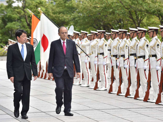 India and Japan to step up Defence Cooperation