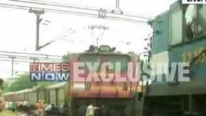 Ranchi Rajdhani Express derails in Delhi
