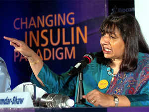 Biocon's Malaysia facility was inspected by the EMA in April 2017, stated the company. (In Pic: Kiran Mazumdar Shaw, CMD, Biocon Ltd)