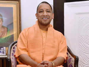 Yogi Adityanath was in Kanpur today where he laid the foundation stone and inaugurated projects worth Rs 850 crore for the city.