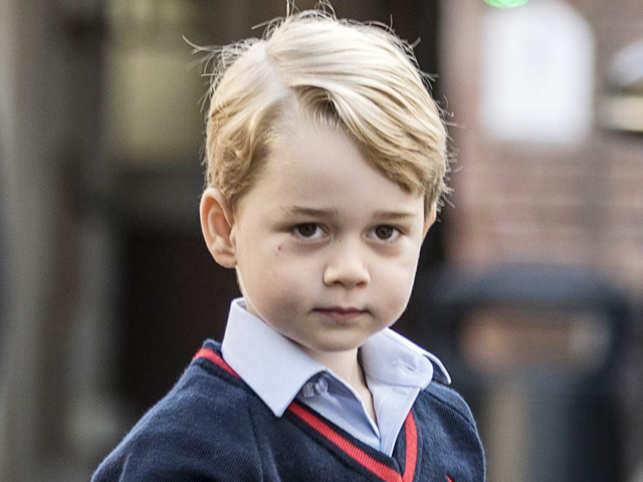 The four-year-old Prince is attending Thomas's Battersea Primary School which costs 18,000-pounds-a-year