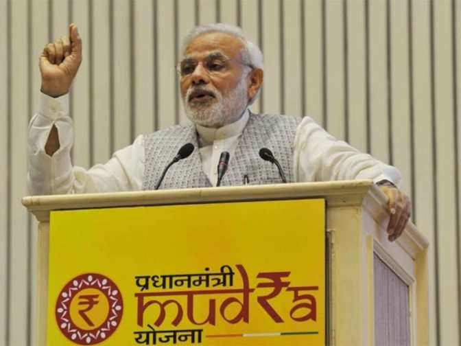 Image result for Narendra Modi's MUDRA Yojana generates 5.5 crore jobs, says report