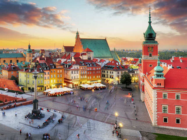 Warsaw has a unique place in contemporary history.
