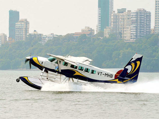 The country's first seaplane was launched in 2010 in Andaman & Nicobar Islands.