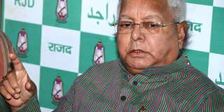 Nitish Kumar greedy, wants to remain in power till death: Lalu Yadav