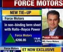 Force Motors, Rolls-Royce Power pact for India JV to produce engines