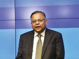 At the indicated price Tata Global Beverages will make Rs 681.45 crore from the sale and Tata Chemicals will make Rs 777.10 crore from the sale. (In pic: N Chandrasekaran)