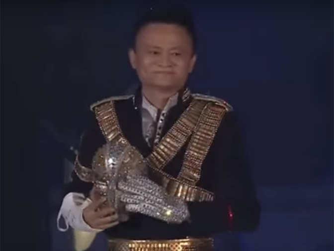 Alibaba Beat It Alibaba S Jack Ma Does A Michael Jackson