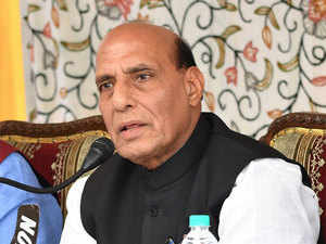 Rajnath Singh was also briefed about the latest equipment being inducted by the BSF.
