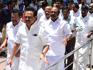 The petition, filed by DMK working president M K Stalin, also wanted the floor test to be held under the supervision of an independent observer