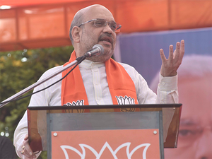"""""""We could successfully end dynasty politics, caste politics and appeasement politics,"""" Shah said."""