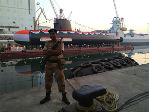 The second of the Scorpeneclass submarines, named Khanderi, is likely to be delivered next year.
