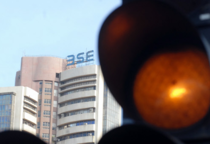 The BSE Sensex was trading 10 points, or 0.03 per cent higher at 32,169.